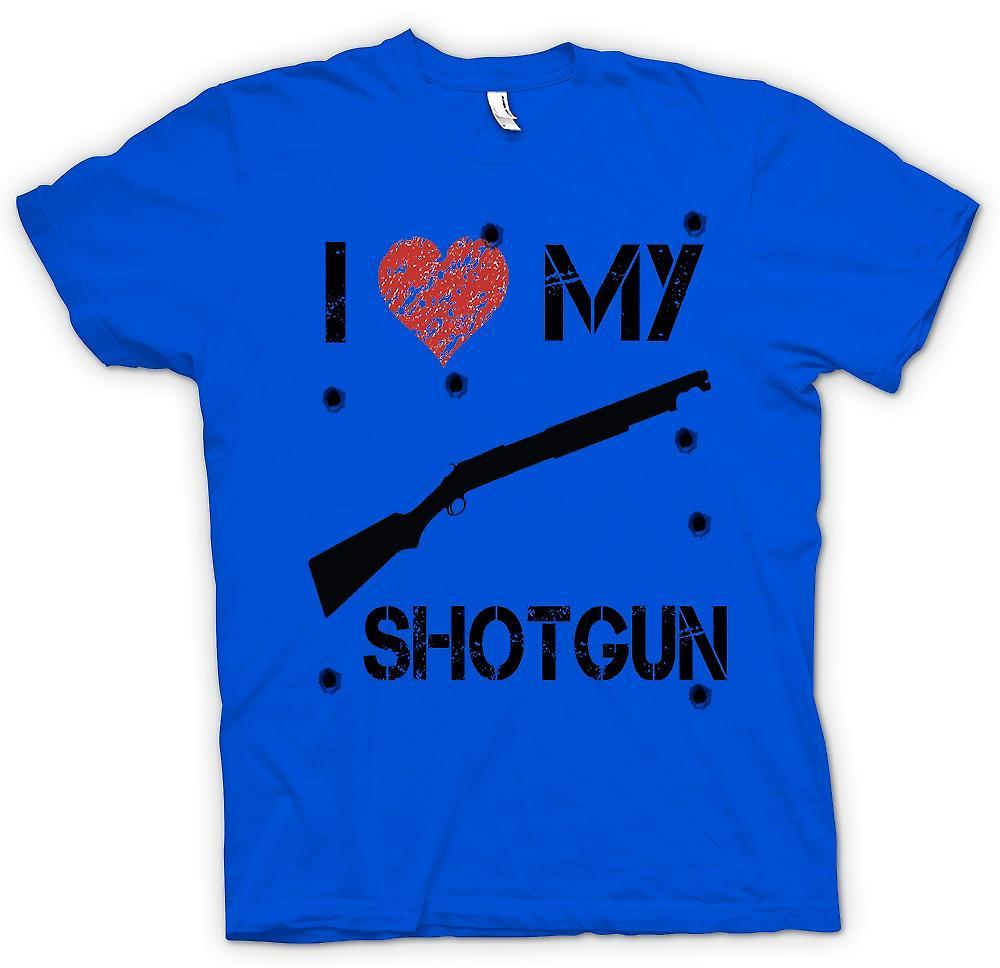 Mens t-shirt - amo il mio fucile