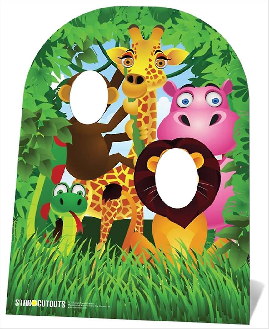 Jungle Stand In Child size Cardboard Cutout / Standee