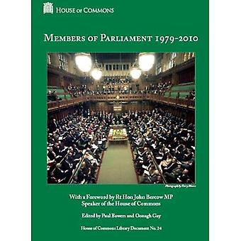 Members of Parliament 1979 - 2010 (House of Commons Library document)