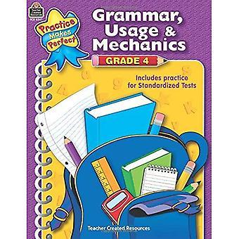 Grammar, Usage & Mechanics Grade 4 (Language Arts)