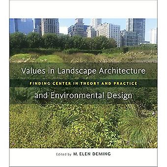 Values in Landscape Architecture and Environmental Design: Finding Center in Theory and Practice (Reading the...