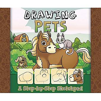 Tekening huisdieren: Een stapsgewijze schetsblok (mijn eerste schetsboekjes)