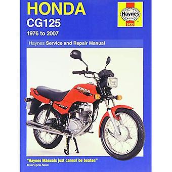 Honda CG125 Service en reparatie handleiding: 1976 tot en met 2007 (Haynes Service en reparatie handleidingen)