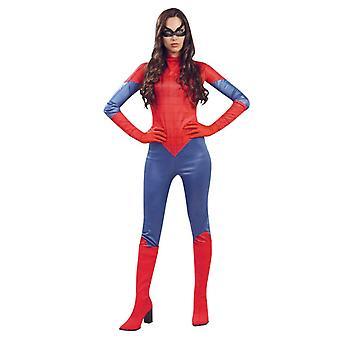 Womens Spidergirl Superhelden Kostüm