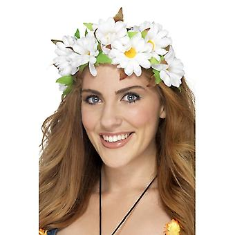 Womens Daisy florales Stirnband Fancy Dress Zubehör