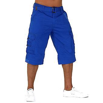 Trendy Men Capri Adventure Jeans Bermuda Shorts Cargo Shorts Short Camel
