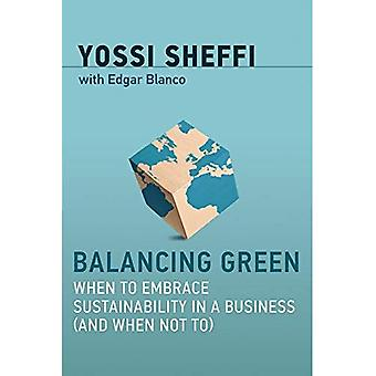 Balancing Green: When to Embrace Sustainability in a� Business (and When Not To) (Balancing Green)