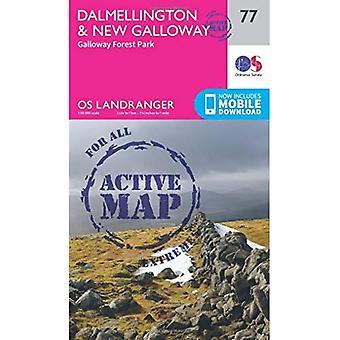 Dalmellington & New Galloway, Galloway Forest Park (OS Landranger Map)