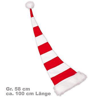 Santa Claus hat felt 100 cm red Santa