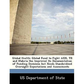 Global Health Global Fund to Fight AIDS TB and Malaria Has Improved Its Documentation of Funding Decisions but Needs Standardized Oversight Expectations and Assessments by US Department of State