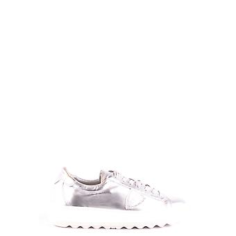 Philippe Model Silver Leather Sneakers