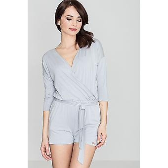 Lenitif women's jumpsuits overall grey