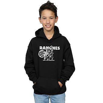 Ramones Boys Gabba Gabba Hey Cartoon Hoodie