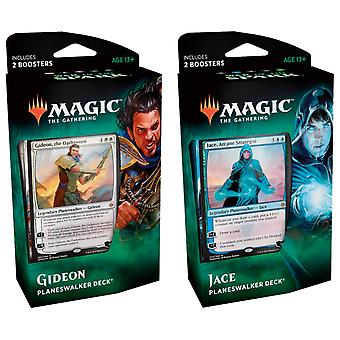 Magic The Gathering-War of The Spark Planeswalker Deck Combo