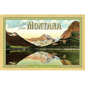 Post Cards from Montana - A Vintage Post Card Book by Farcountry Press