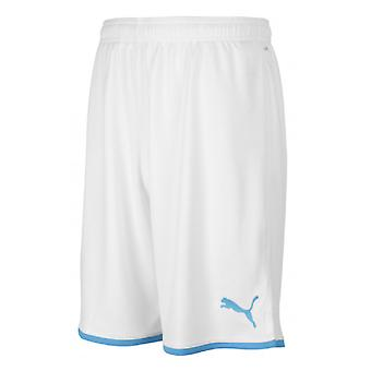 2019-2020 Olympique Marseille Puma Home Shorts (White)