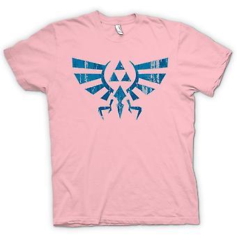 Kids t-skjorte-Legend Of Zelda inspirert - Triforce - spillet inspirert