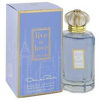 Live In Love New York By Oscar De La Renta Eau De Parfum Spray 3.4 Oz (women) V728-545110