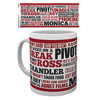 Friends Quotes Boxed Drinking Mug