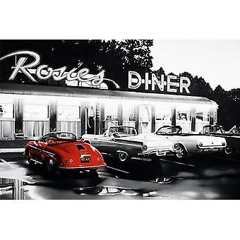 Poster - Studio B - Rosie s Diner 36x24