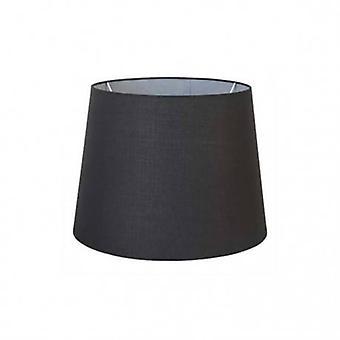 Extra grote taps toelopende ronde zwarte schaduw aankleden
