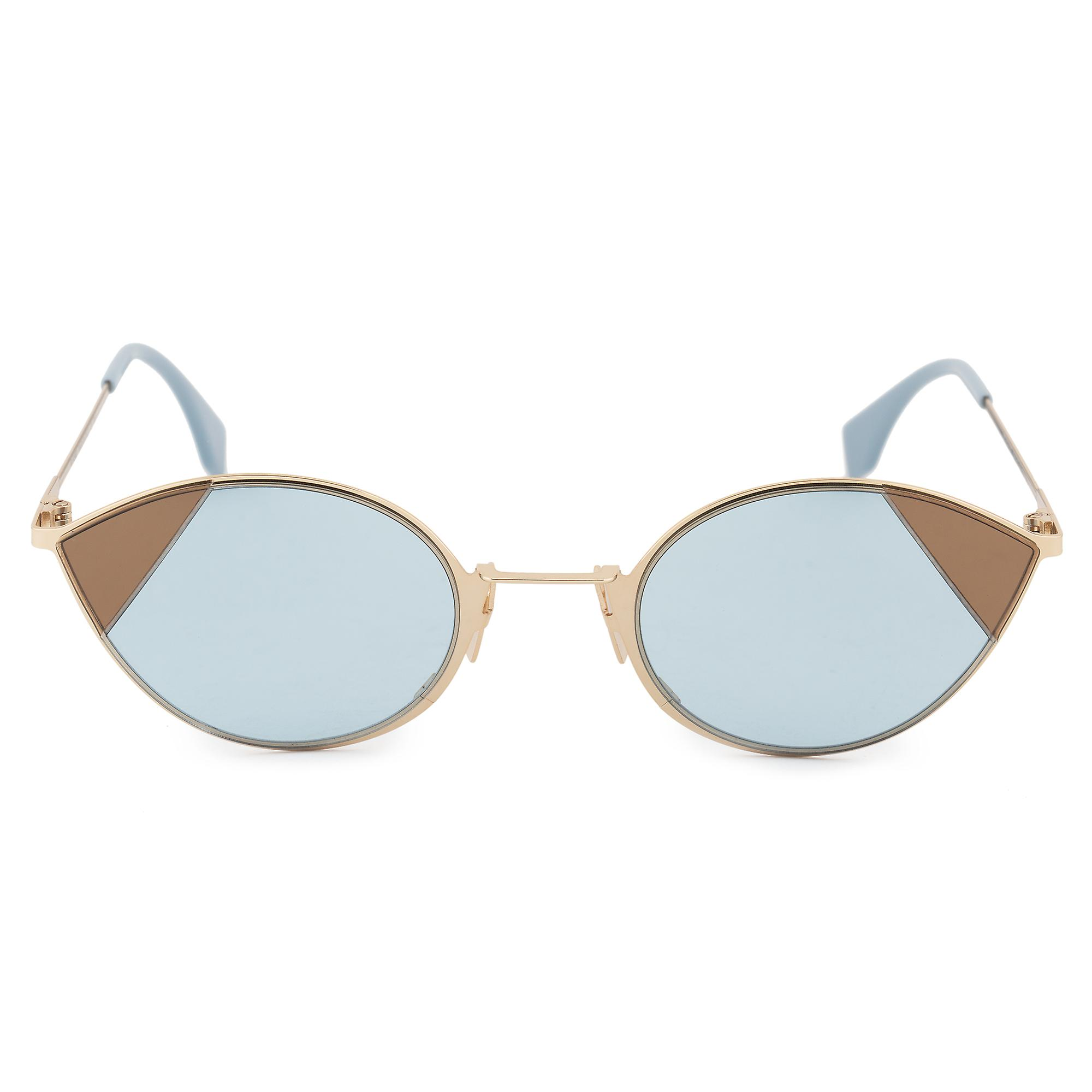 Fendi Cut-Eye FF 0342 S QWU 1P 51 Cat Eye Sunglasses