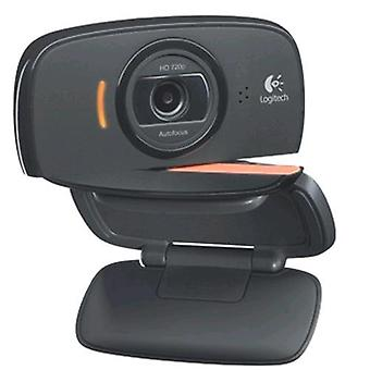 Logitech b525 hd webcam hd 720p con microfono usb a colori nero