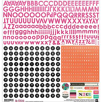 B-Side Cardstock Stickers 12