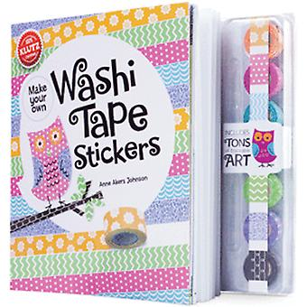 Washi Tape Sticker buchen Kit-564776