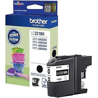 Brother Ink LC-221BK opprinnelige svart LC221BK