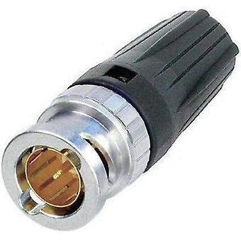 BNC connector Plug, straight 75 Ω Neutrik NBNC 75 BJP 9 1 pc(s)