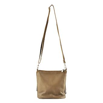 CTM genuine leather woman small Shoulder Bag made in Italy