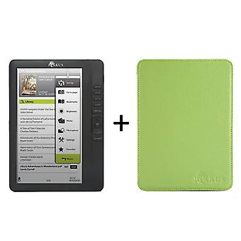 Bundle ICARUS Omnia M701BK  (G2) with Perfectfit Lime Green cover