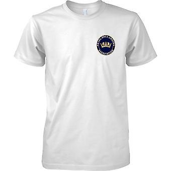 Vela do RN - t-shirt cor de esportes da Marinha Real Britânica