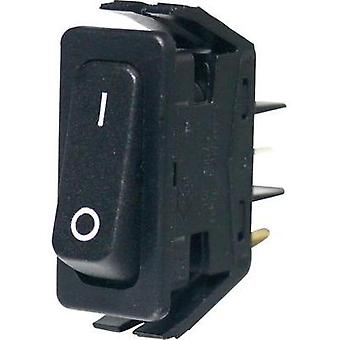 Toggle switch 250 Vac 16 A 1 x On/Off Arcolectric C6000ALAAA latch 1 pc(s)
