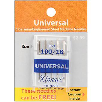 Klasse Universal Machine Needles-Size 18/110 5/Pkg A5100-11018