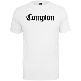 Mister t-shirt - COMPTON bianco