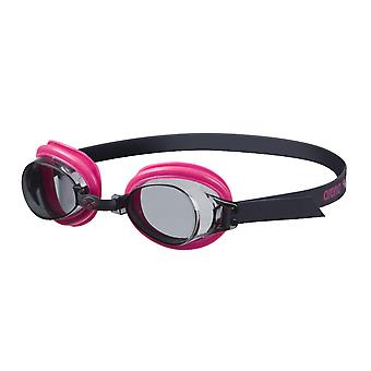 Arena Bubble 3 Junior Swim Goggle - Smoke Lens - Fuchsia/Black Frame