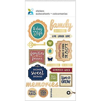 Momenta Mixed Media Stickers-Day In The Life 26824