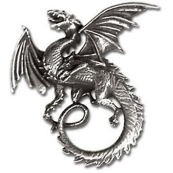 Alchemy Gothic Whitby Wyrm Dragon Pendant / Necklace