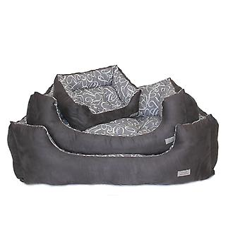 Chelsea Kalahari Bed grå lille 46x41cm