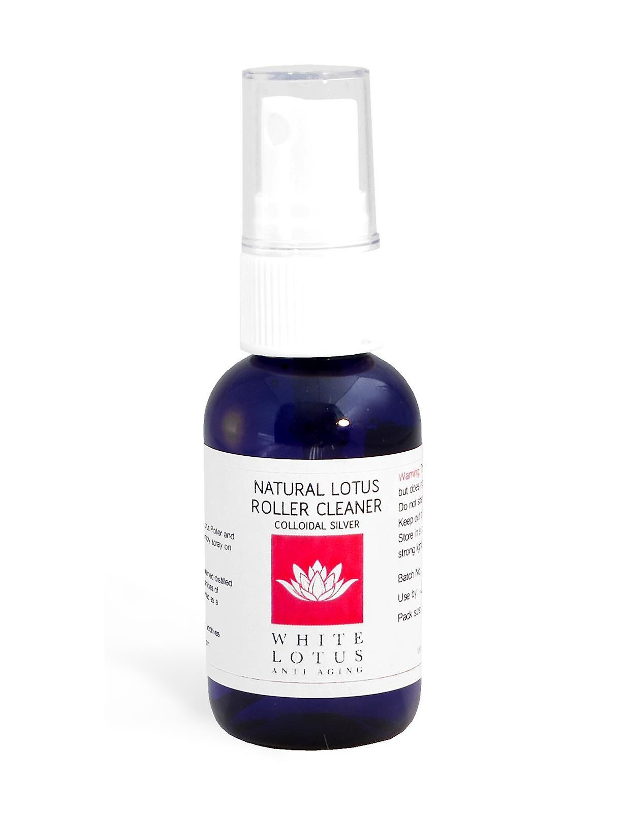 Natural Lotus Roller Cleaner- Colloidal silver