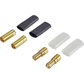 5.5 mm Gold-plated 2 pair Reely 83504-2