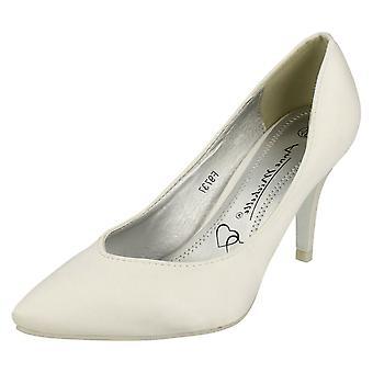 Las señoras Anne Michelle corte novia zapato F9756