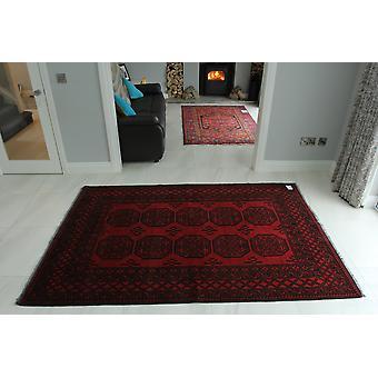 Hand tuftede afghanske røde orientalsk tæppe