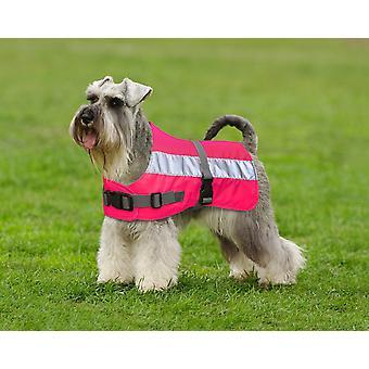 Flecta Hej Vis hund jakke Pink 71cm (28