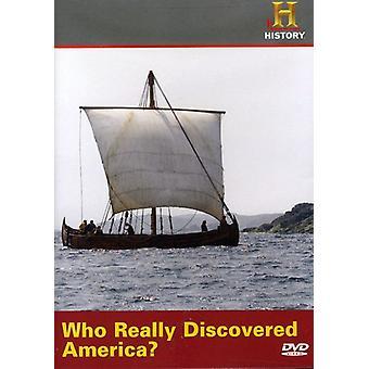 ¿Quién realmente descubrió América? Importación [DVD] los E.e.u.u.