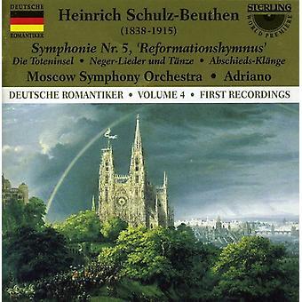 H. Schulz-Beuthen - Heinrich Schulz-Beuthen: Symphonie Nr. 5 Reformationshymnus [CD] USA importerer
