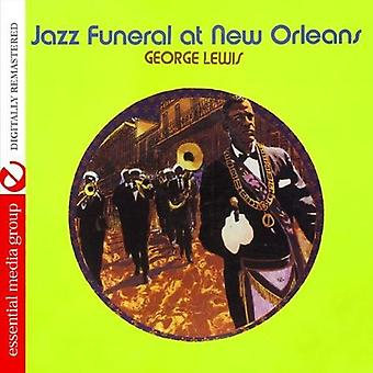 George Lewis - Jazz Funeral at New Orleans [CD] USA import