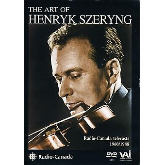Henryk Szeryng - Art of Henryk Szeryng [DVD] USA import